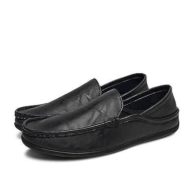 Amazon.com: Hombre Mocasines Planos Casual Zapatos de barco ...