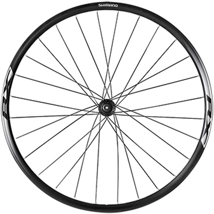 WH-RX010-CL-L-Ft EWHRX010FDAB SHIMANO RX010 24MM Front Disc Brake Road Bicycle Wheel