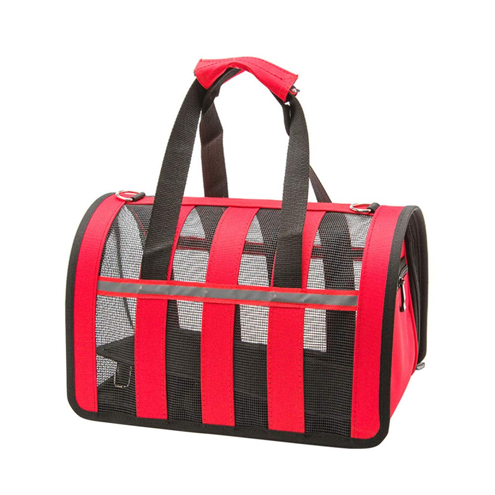 Red S Red S GSPet Travel Outdoor Portable Adjustable Pet Dog Carrier Bag Breathable Tote Handbag Red S