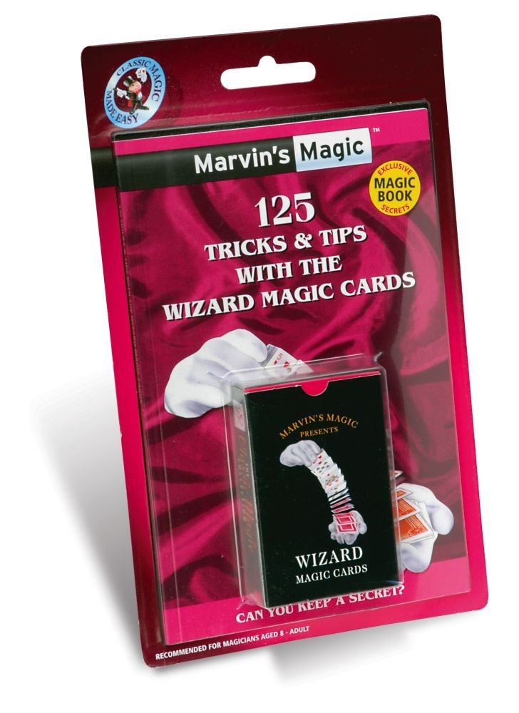 Marvin's Magic 125 Tricks and Tips with Wizard Magic Cards