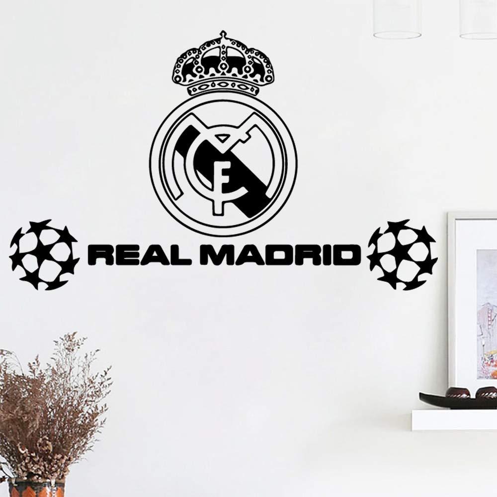 zzlfn3lv Arte Real Madrid fútbol fútbol Pegatinas de Pared ...