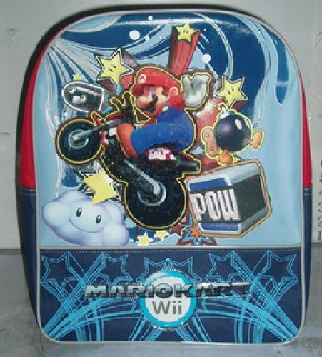 Price comparison product image Fast Forward Little Boys' Mario Backpack 4,  Blue,  One Size