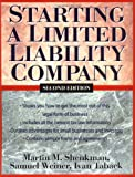 Starting a Limited Liability Company, Martin M. Shenkman and Samuel Weiner, 0471226645