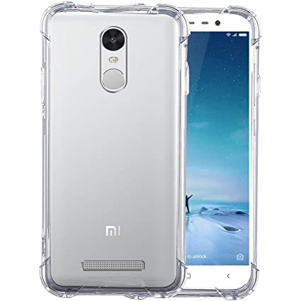 new product d83d0 8c3f8 Parallel Universe Xiaomi Redmi Note 3 Back Cover Case Shock Absorbing TPU -  Transparent