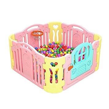 Kinder Spielen Bunte Zaun Kinder Sicher Kriechende Kunststoff Zaun