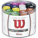 Wilson Pack de overgrips, Bowl Overgrip, 50 unidades, Colores surtidos, WRZ404300