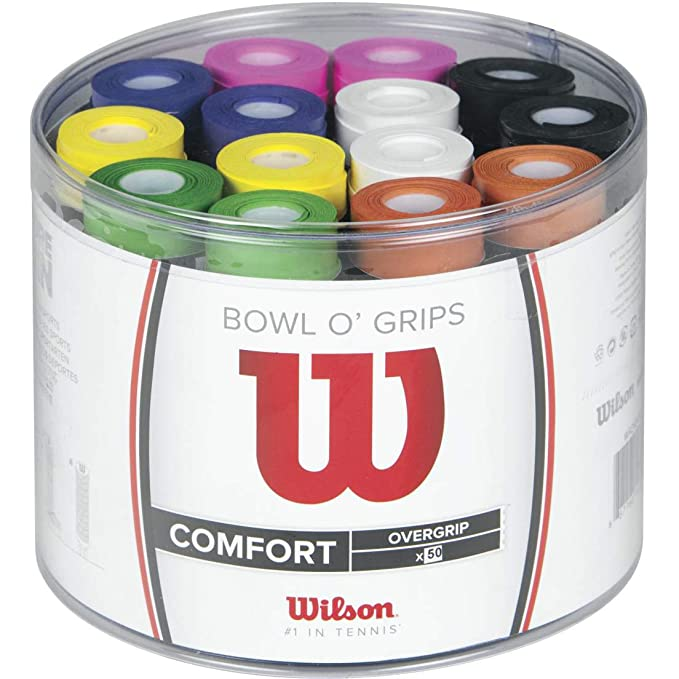 Wilson Bowl Overgrip, Unisex, Multicolor, Talla Única: Amazon.es ...