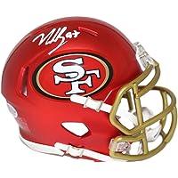 $149 » Nick Bosa Autographed/Signed San Francisco 49ers Blaze Mini Helmet BAS