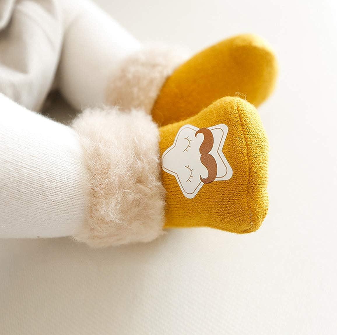3 Pack Baby Socks Infant Ankle Socks Newborn Cute Cartoon Thick Socks