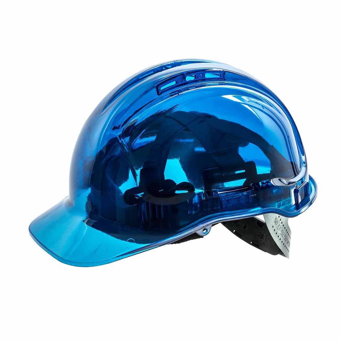 by Portwest Portwest PV50/Peakview ventilato coperchio cappello blu