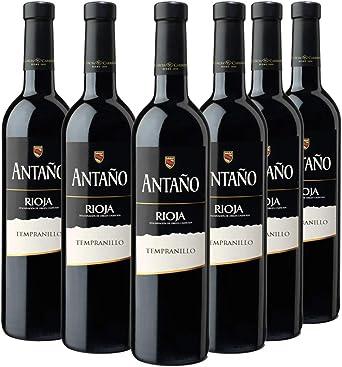 Don Simon Antaño Tempranillo Vino Tinto D.O Rioja - Pack de 6 Botellas x 750 ml: Amazon.es: Alimentación y bebidas