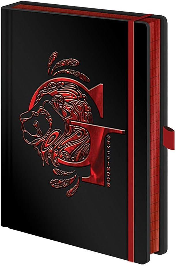 Harry Potter Notebook Gryffindor A5 New Unused School Blank Book