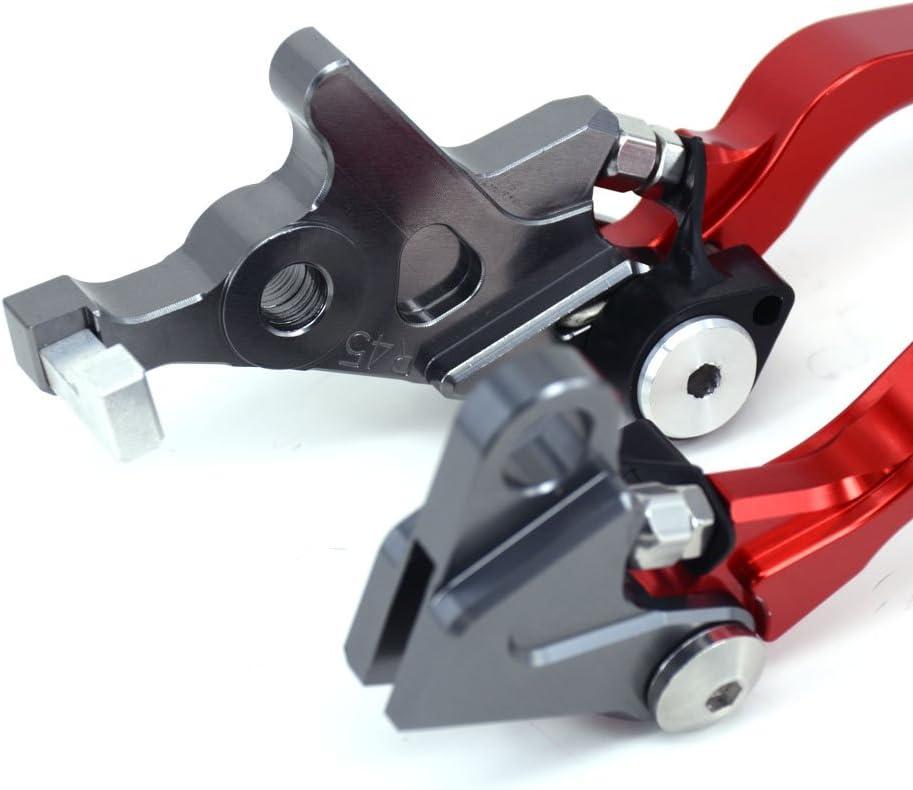 An Xin Motorrad CNC Billet Klappbare Kupplungsbremse f/ür Honda CRF250L CRF250M 12-17 Enduro Motorrad rot