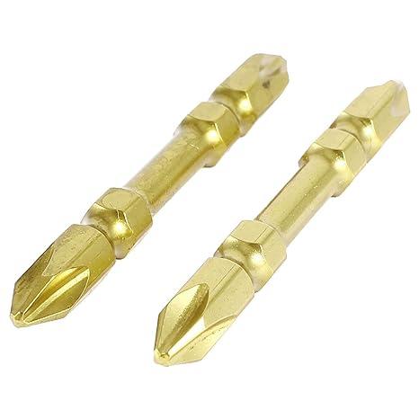 2 piezas 65 mm 6,5 mm PH2 juego de punta magnético puntas para ...