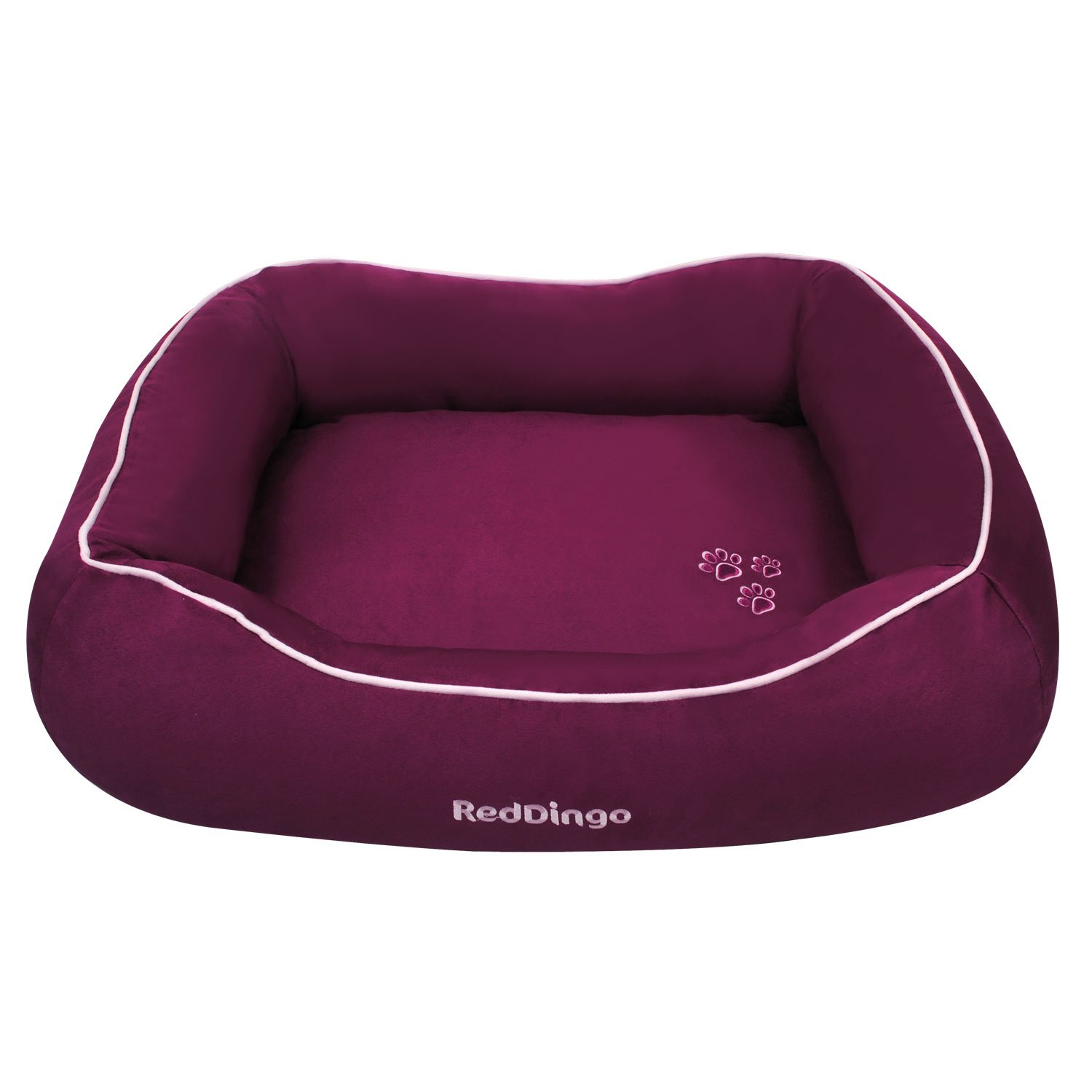 Red Dingo Pet Donut Bed Small Purple