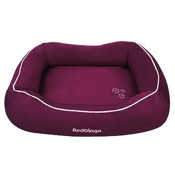 Red Dingo GmbH 9330725039964 Cama para Perro, S, Morado: Amazon.es: Productos para mascotas