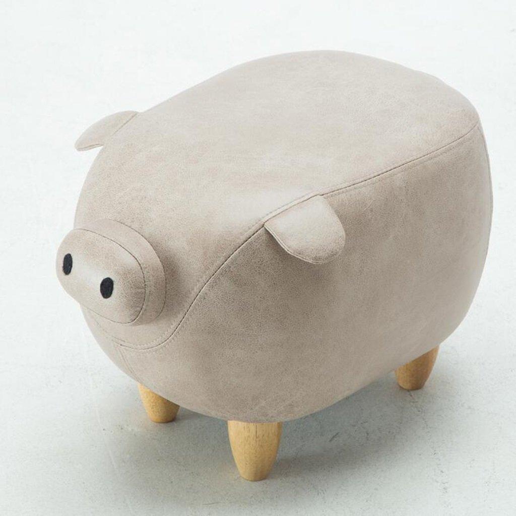 80% de descuento Silla Rollsnownow El Estilo Creativo blancoo del Cerdo Cambia Cambia Cambia el Taburete Que Lleva un Taburete del Taburete del Taburete del Zapato  de moda