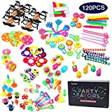 Amy&Benton 120PCS Carnival Prizes for Kids Birthday Party Favors, Pinata Filler Toy Assortment for Boys and Girls, Prize Box Toys for Teachers and Parents