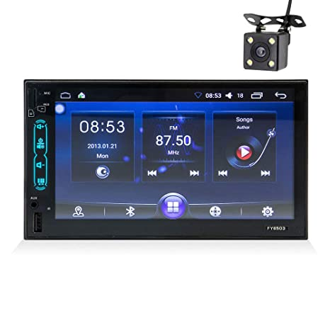 Amazon.com: QWERDF Android 6.0 Doble Din Car Stereo ...