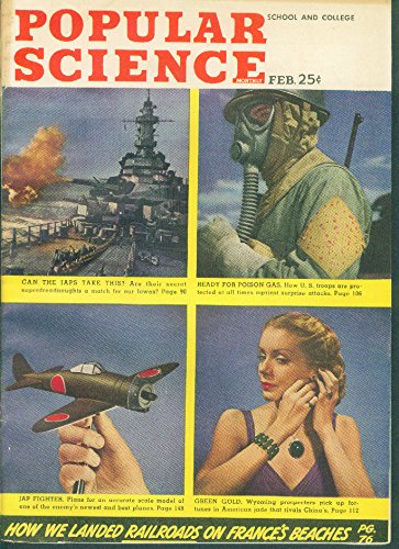 POPULAR SCIENCE Japanese Zero Fighter Poison Gas Mask Jade Jewelry ++ 2 1945 by The Jumping Frog