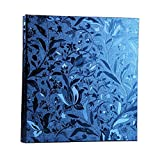 Xerhnan Leather Frame Cover Photo Album 600 Pockets Hold 4x6 Photos(Gem blue)