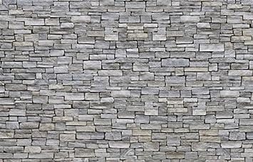 kleistertapete foto tapete grober stein grau kt311 stein wand mauer tapete fototapete gre 420x270cm