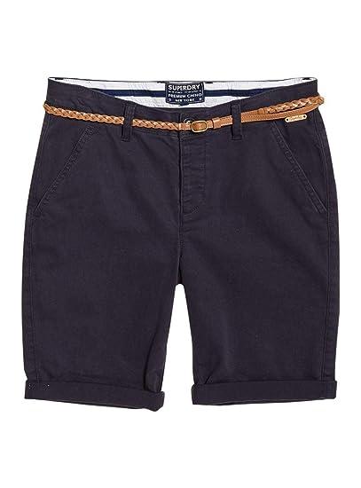 3e5814caf2b8 Superdry Chino City Short Pantalones Cortos para Mujer: Amazon.es ...