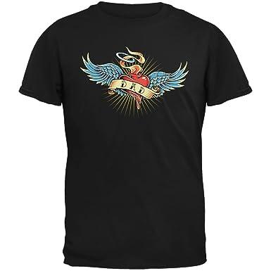 Old Glory Día del Padre - Camiseta Vintage de Tatuaje de papá ...
