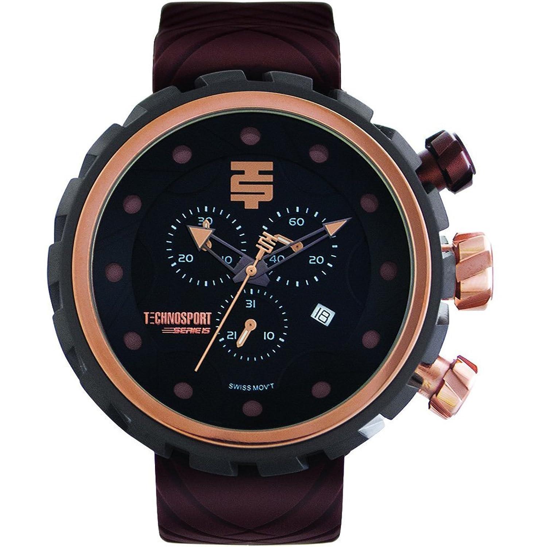 TechnoSport Herren Chrono Uhr - BOLD schwarz - braun