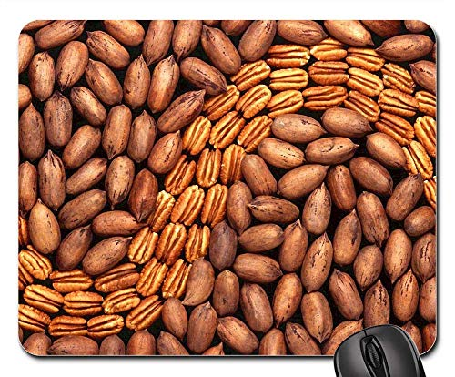 - Mouse Pad - Pecans Shelled Kernel Food Nut Brown Healthy
