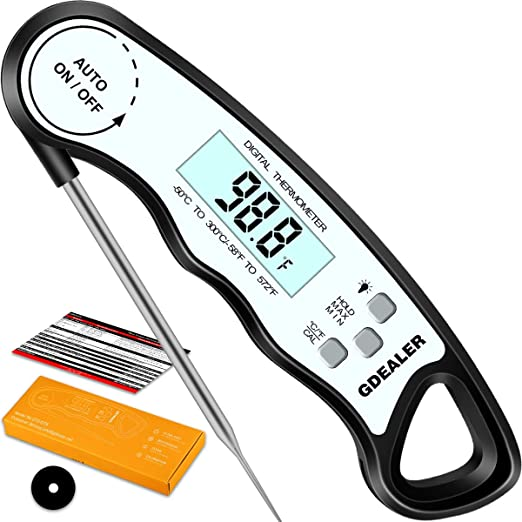 New Meat Candy Jam Cooking Digital Thermometer Probe Food Kitchen BBQ Deep Fry