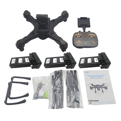 LouiseEvel215 Drone Dual GPS WiFi FPV Drone con 4K Cámara Control ...
