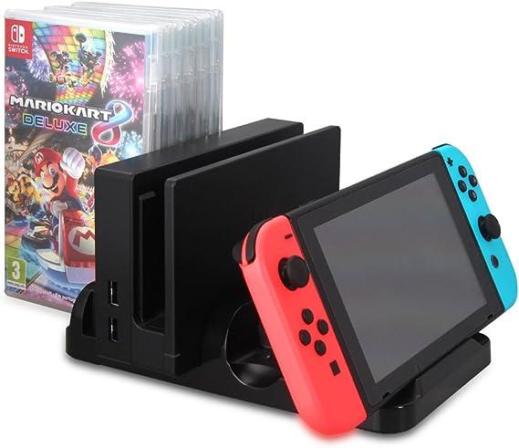 Soporte y estación de carga Playstand para Nintendo Switch: Amazon.es: Electrónica