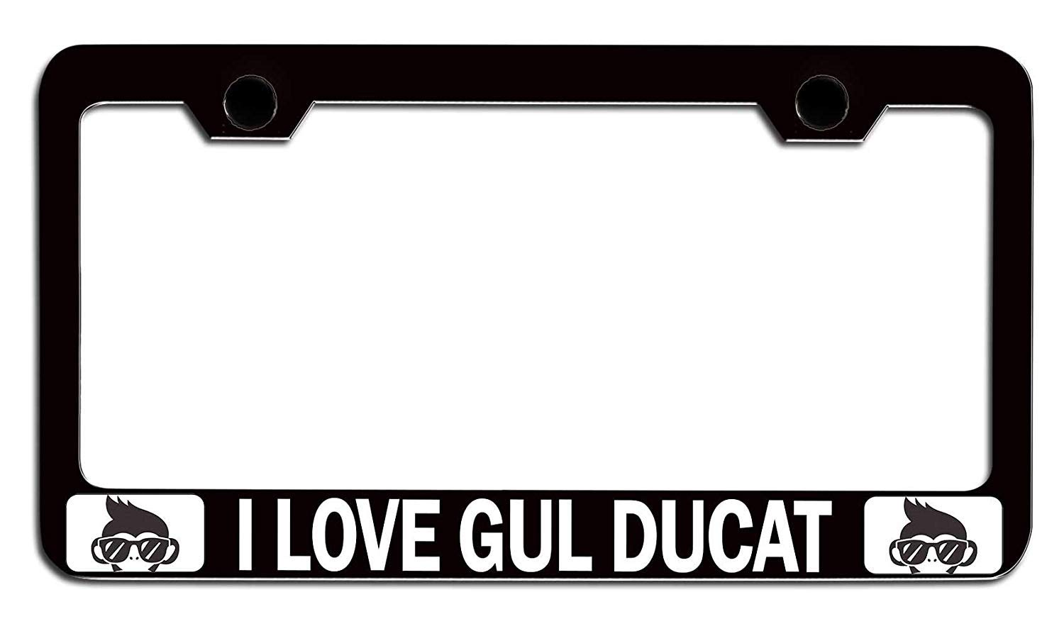 Italia Customized Car License Plate Frame for Women Cute Auto License Plate Frame Humor