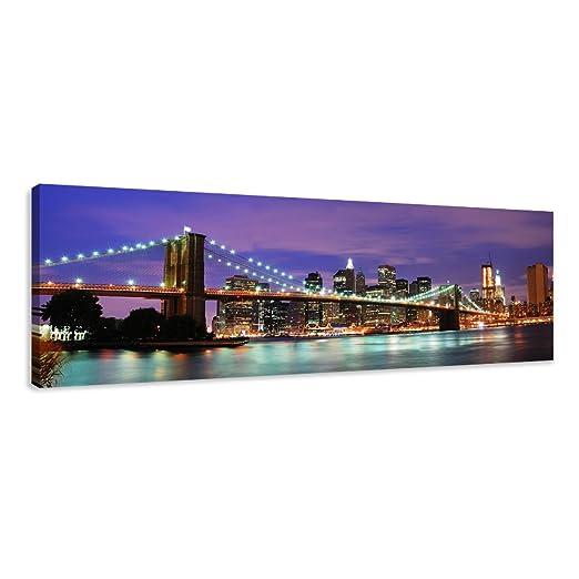 11 opinioni per Quadro su tela New York 120 x 40 cm modello nr XXL 5701. I quadri sono montati
