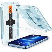 Spigen Glas.tR EZ Fit Screenprotector compatibel met iPhone 13 Pro Max, 2 Stuks, met Sjabloon voor Installatie…