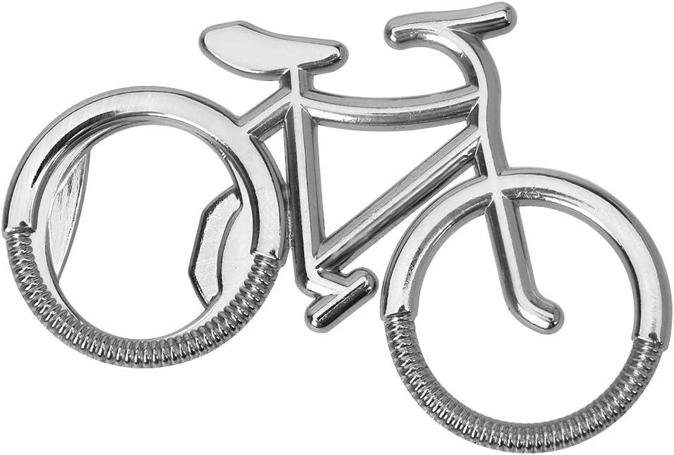 iTimo Abridor de Cerveza, Forma de Bicicleta, aleación de Zinc