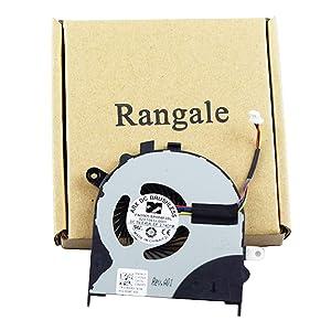 Rangale Replacement CPU Cooling Fan for Inspiron 13-7347 13-7352 13-7348 13-7353 13-7359 Series Laptop DW2RJ, 0DW2RJ