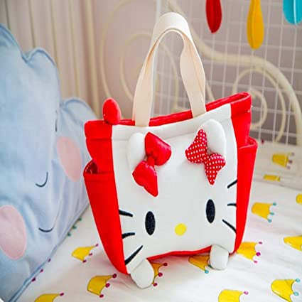8f8bddd3d7 Image Unavailable. Image not available for. Color  Jewh 25CM Beauty Girl  Cartoon Princess Series Girl Woman Plush Backpack Toy Cute Plush Lunch Bag