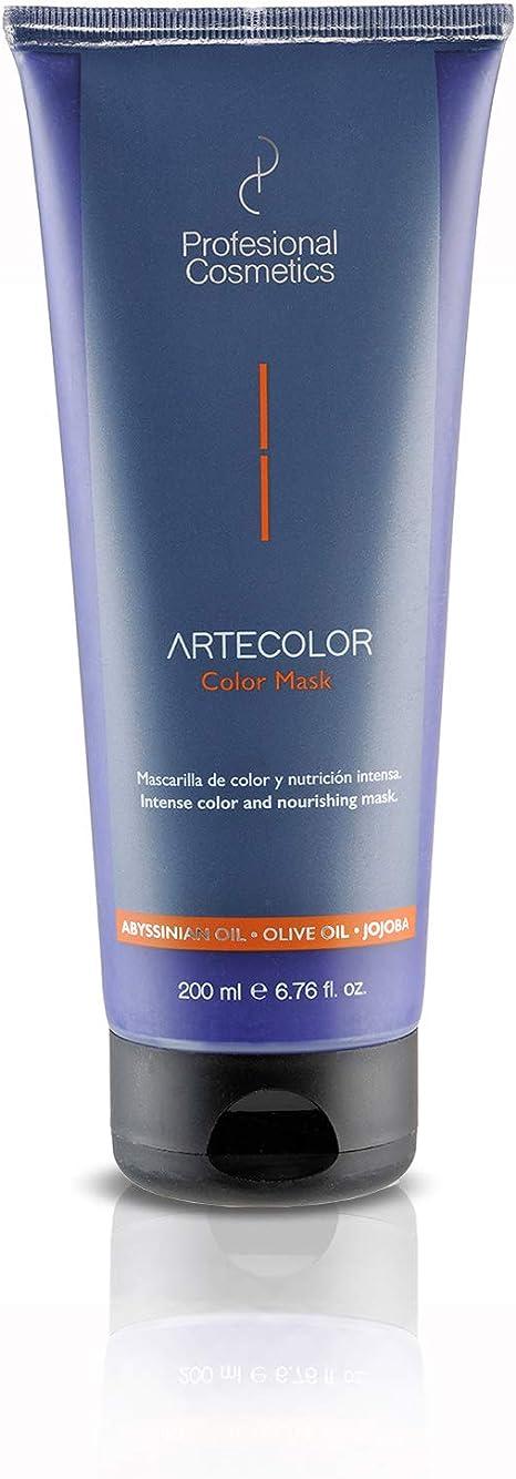 Profesional Cosmetics Artecolor Color Mask. Mascarilla de color rubio hielo - 12 botes de 200 ml.