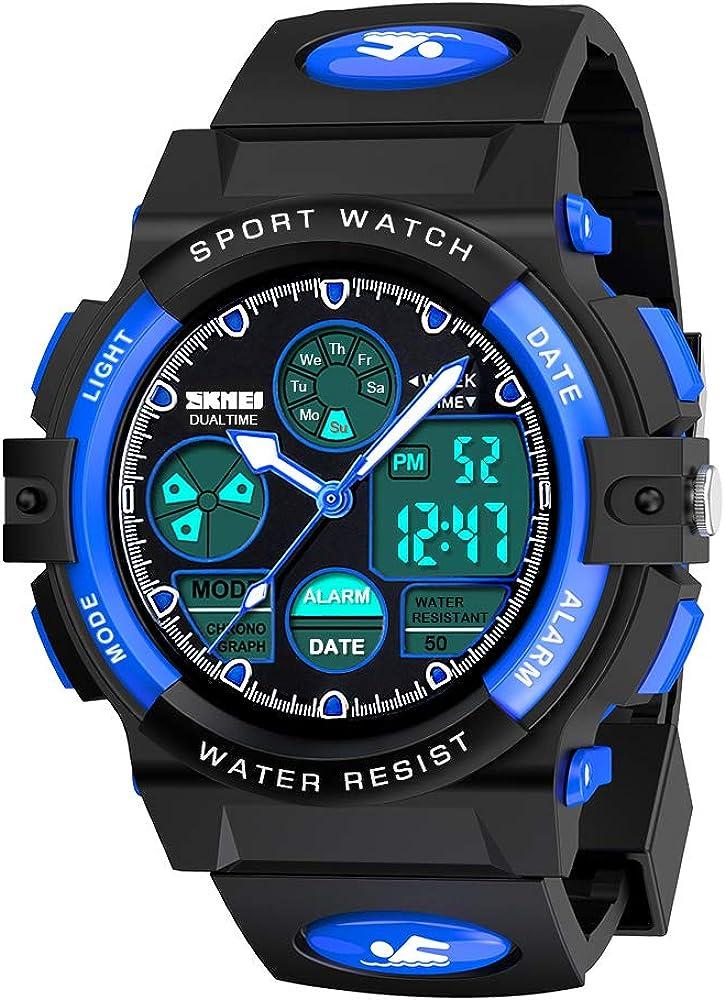 EUTOYZ Reloj de Pulsera para Ninos Juguete de Nino Impermeable para Deportes al Aire Libre Regalo para Ninos