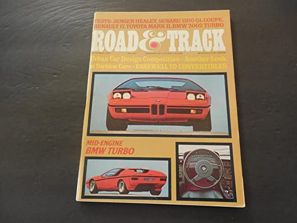 Road Track Dec 1972 Mid-Engine BMW 2002 Turbo; Jensen-Healey