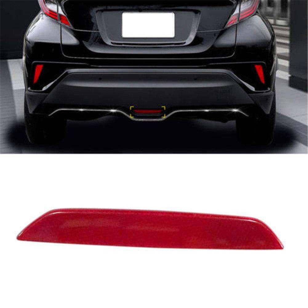 Mehoca ABS Rear Stop Lamp Brake Light Trim for Toyota C-HR CHR 2016-2018, 1PCS