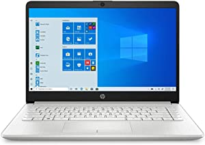 "(Renewed) HP 14 14.0"" Laptop Computer/ AMD Athlon Silver 3050U Up to 3.2GHz (Beats i3-7130u)/ 4GB DDR4 RAM/ 64GB eMMC/ Webcam/ Online Class Ready/ Windows 10 Home S/ SPMOR MousePad + 32GB SD Card"