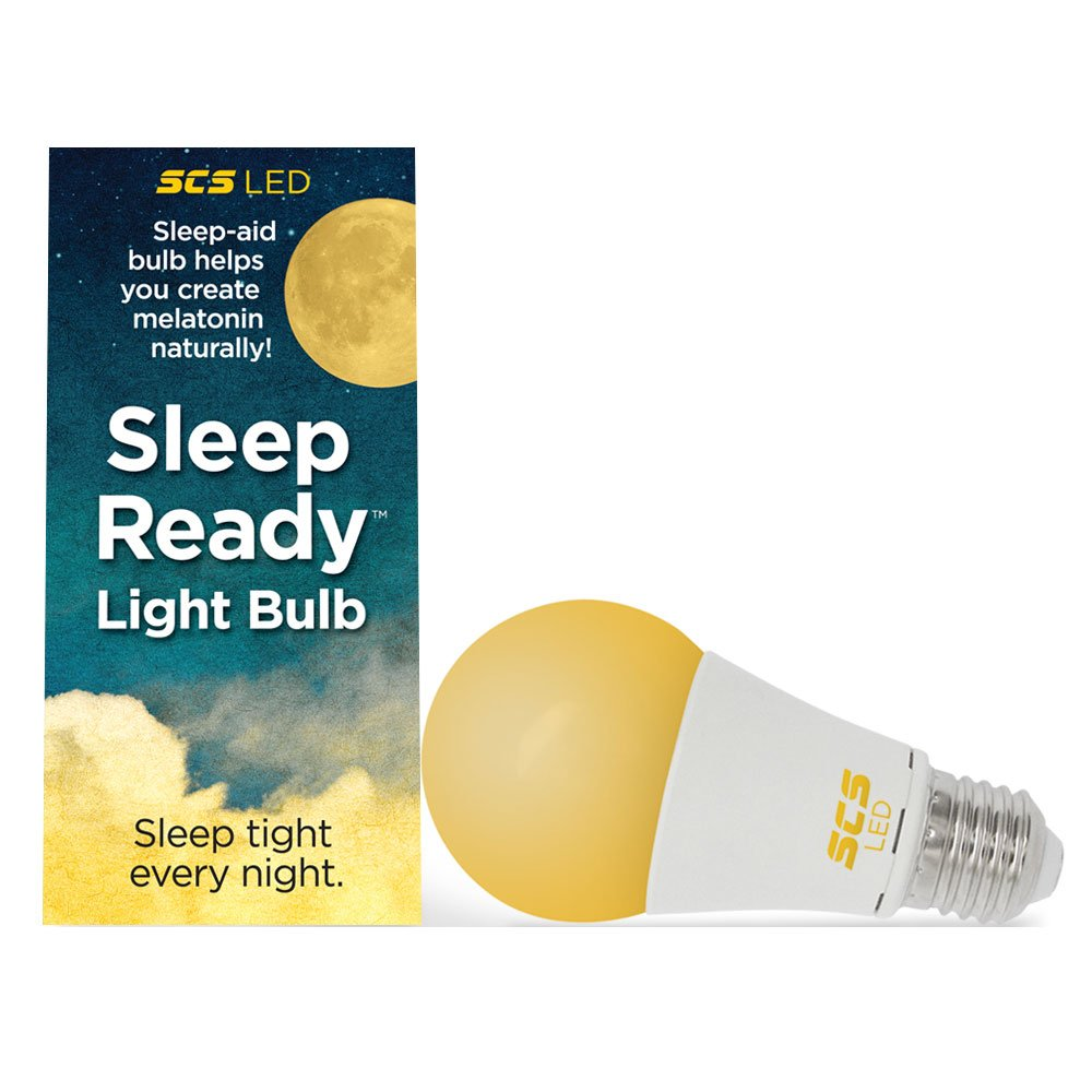 SCS Lighting Sleep-Ready Light. Sleep Better Naturally! 7 watt LED AMBER Bulb. Supports healthy sleep patterns Promotes Natural Melatonin Production with ...  sc 1 st  Amazon.com : healthy lighting - azcodes.com