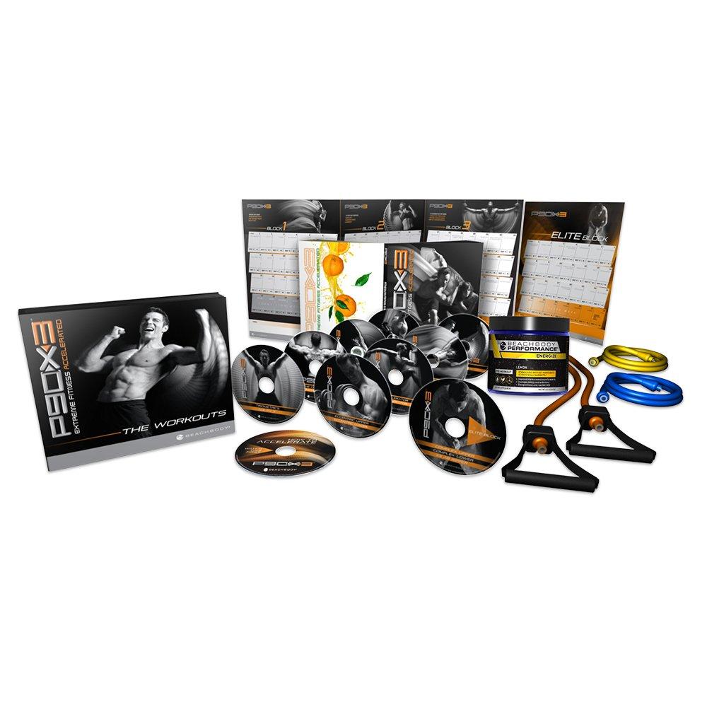P90X3 DVD Workout Deluxe Kit - Tony Horton by Beachbody