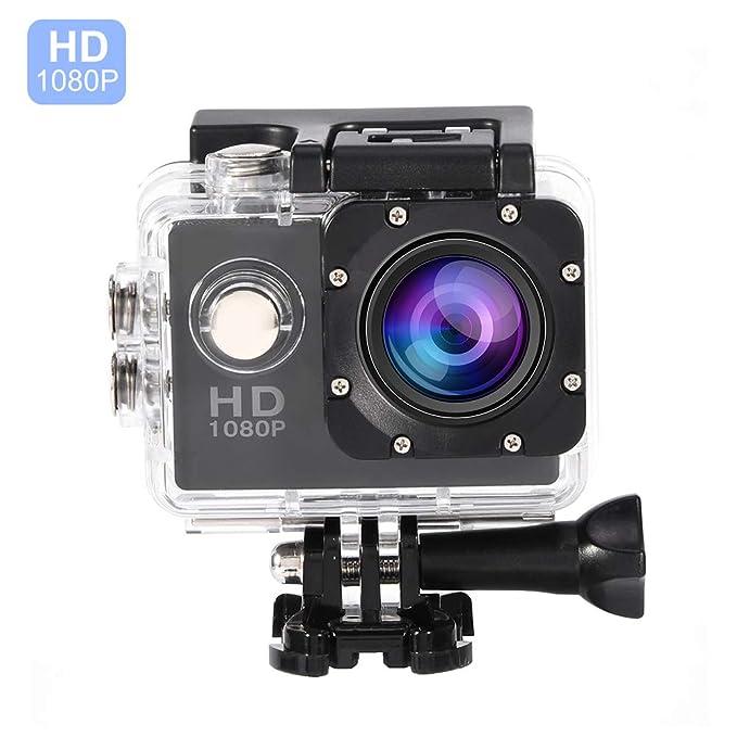 2 opinioni per VBESTLIFE Action Cam Videocamera Subacquea Ultra HD Sport Action Camera Mini DV