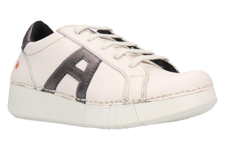 Zapato Art 1134S Soft Grain White Antracita 40 EU Negro