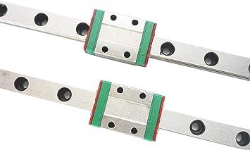MGN9H 100mm Mini Linearführung Linearschienen Linearführungsschiene Gleitblock