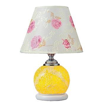 HTL Lámpara de mesa para el hogar, lámpara de noche, personalidad ...